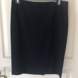 I.Crew bi-stretch pencil skirt 2 petite